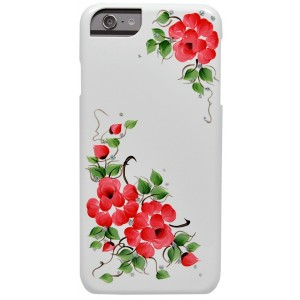 Накладка для iPhone 6 Plus iCover Hp Sweet Rose Red, (IP6/5.5-HP/W-SR/R)