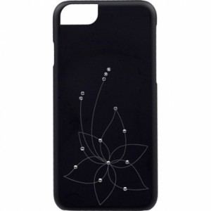 Накладка для iPhone 6 Plus iCover Swarovski New Design SW13, цвет черный, (IP6/5.5-SW13-BK)