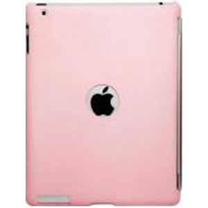 Пластковый чехол для iPad 3 и iPad 4 iCover Candy Rubber Baby цвет Pink (NIA-CAR-BP)