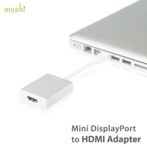 Moshi Mini Display Port to HDMI (with Audio) Adapter for MacBook