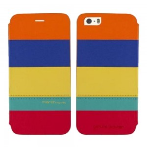 Кожаный чехол для iPhone 6 Plus / 6S Plus Uniq March, цвет Colorful, (IP6PGAR-MARCOL)