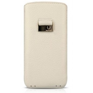 Чехол для iPhone 5/5S Beyzacases Retro Strap Case, цвет Белый, BZ23103