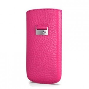 Чехол для iPhone 5/5S Beyzacases Retro Strap Case, цвет Фуксия, BZ23127