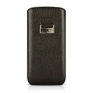 Чехол для iPhone 5/5S Beyzacases Retro Strap Case, цвет Черный, BZ23080