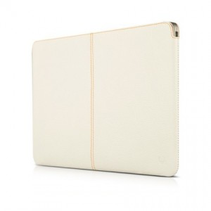 "Кожаный чехол для MacBook Air 11"" BeyzaCases Zero Sleeve (White), BZ20096"