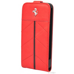 Чехол Ferrari Flip California Red для iPhone 5/5S (FECFFL5R)
