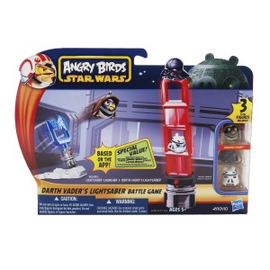 Hasbro! Настольная игра Angry Birds Star Wars: Darth Vader's Lightsaber