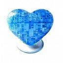 Головоломка 3D пазл Сердце синее